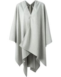 Golden Goose Deluxe Brand - Oversized Poncho Coat - Lyst