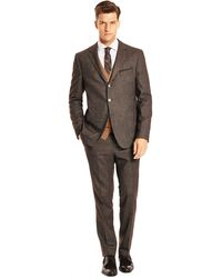 Hugo Boss Nowisbeat  Slim Fit Stretch Virgin Wool and Cotton Blend Suit - Lyst
