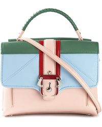 Paula Cademartori Colour Block Satchel - Lyst