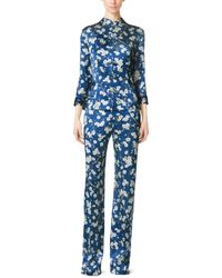 Michael Kors - Mandarin Evening Pajama Trouser - Lyst