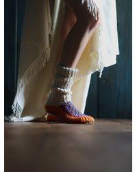 Ariana Bohling - Handknit Tall Slipper Sock - Lyst