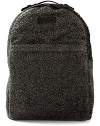 Emporio Armani Textured Backpack - Lyst