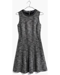 Madewell The Anywhere Dress In Tweed - Lyst