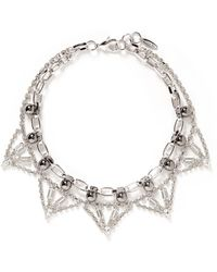 Joomi Lim 'Modern Muse' Crystal Chain Necklace - Lyst