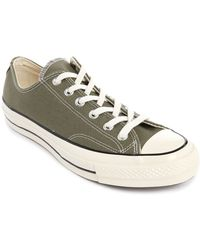 Converse 70S Chuck Canvas Olive Green Sneakers - Lyst