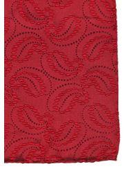 Giorgio Armani Paisley Silk Jacquard Pocket Square - Lyst