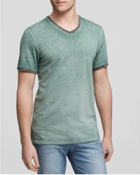 Threads For Thought - Burnout Wash Rigner V Neck Tee - Lyst