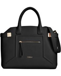 Furla Alice Top Handle Bag - Lyst