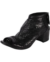 Lemarè Perforated Slingback Bootie - Lyst
