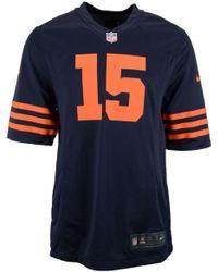 Nike Mens Brandon Marshall Chicago Bears Game Jersey - Lyst