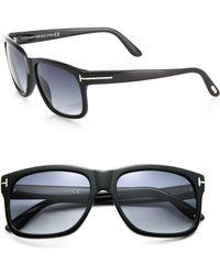 Tom Ford Barbara Square Acetate Sunglasses - Lyst