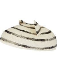 Eugenia Kim White Caterina Cat Ear Hat - Lyst