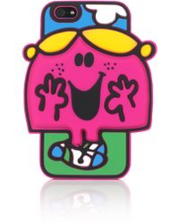 House Of Holland Mr Men Little Miss Chatterbox Iphone 6 Case - Lyst