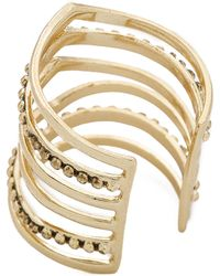 Sunahara - Statement V Ring - Gold - Lyst