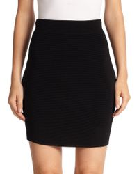 Parker Gianna Knit Skirt - Lyst