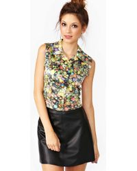 Nasty Gal Moschino Candy Coated Vest multicolor - Lyst