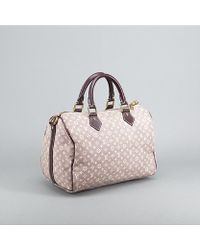 Louis Vuitton Preowned Idylle Canvas Speedy 30 Bandouliere Bag - Lyst
