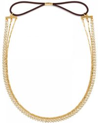 BaubleBar - Draped Crystal Hair Band - Lyst