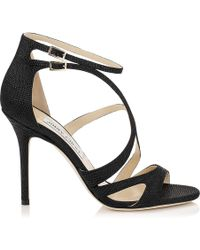 Jimmy Choo Black Furrow - Lyst