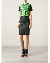 Emanuel Ungaro Abstract Print Tshirt - Lyst