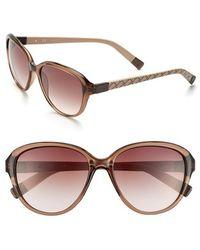 Furla | 55Mm Graphic Print Sunglasses | Lyst