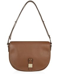 Mulberry Tessie Small Grain Satchel - Lyst