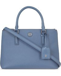 Tory Burch Robinson Mini Double Tote - For Women - Lyst