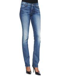 7 For All Mankind Modern Straight Denim Jeans - Lyst