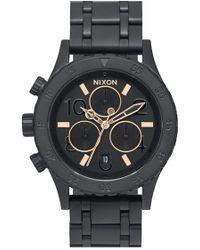 Nixon - 'the 38-20' Chronograph Bracelet Watch - Lyst