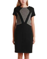 L'Agence Fabric Block Dress - Lyst