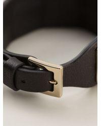 Valentino Black Rockstud Bracelet - Lyst