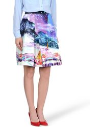 Manish Arora Knee Length Skirt - Lyst