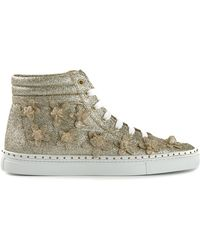 DSquared2 Embossed Flower Sneakers - Lyst
