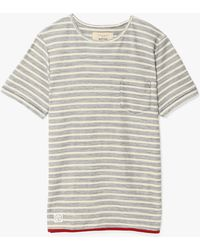 Native Youth Reverse Stripe Tee - Lyst