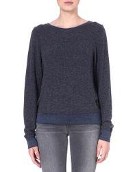 Wildfox Baggy Beach Jersey Sweatshirt Sailor - Lyst