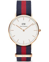 Daniel Wellington Classic Oxford Watch, 36Mm blue - Lyst