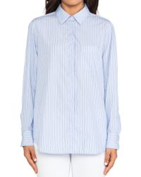 Equipment Marisson Cotton Shirt - Lyst