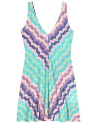 Missoni Mare Crochet-Knit Dress - Lyst