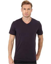 Velvet By Graham & Spencer Whisper Jersey V-Neck T-Shirt - Lyst