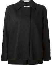MM6 by Maison Martin Margiela Pleated Back Jacket - Lyst