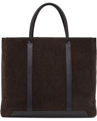 Reiss - Tanner Leather Tote Bag - Lyst