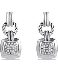 David Yurman Renaissance Drop Earrings with Diamonds 22 Ct Tw - Lyst