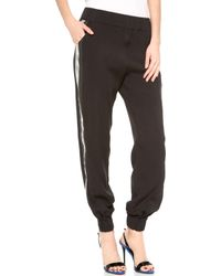 Jay Ahr Black Pants - Lyst