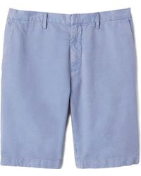 Vince Herring Twill Trouser Shorts - Lyst
