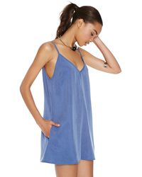 Nasty Gal After Party Vintage Let It Slip Dress - Lyst