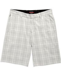 Victorinox Gray Plaid Shorts - Lyst