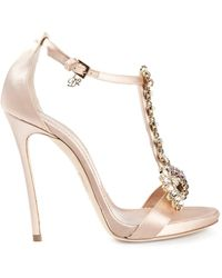 DSquared2 Embellished Sandals - Lyst