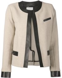 Iro Black Fitted Jacket - Lyst