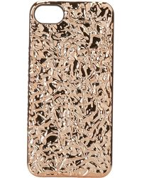Marc By Marc Jacobs Foil Iphone 5 Case - Lyst