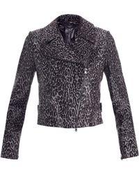 Alaïa - Guepard Calf Hair Jacket - Lyst